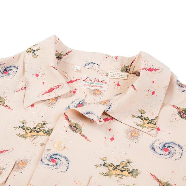 Levi's Vintage Clothing LVC 1940's Hawaiian Shirt - Beige Universe