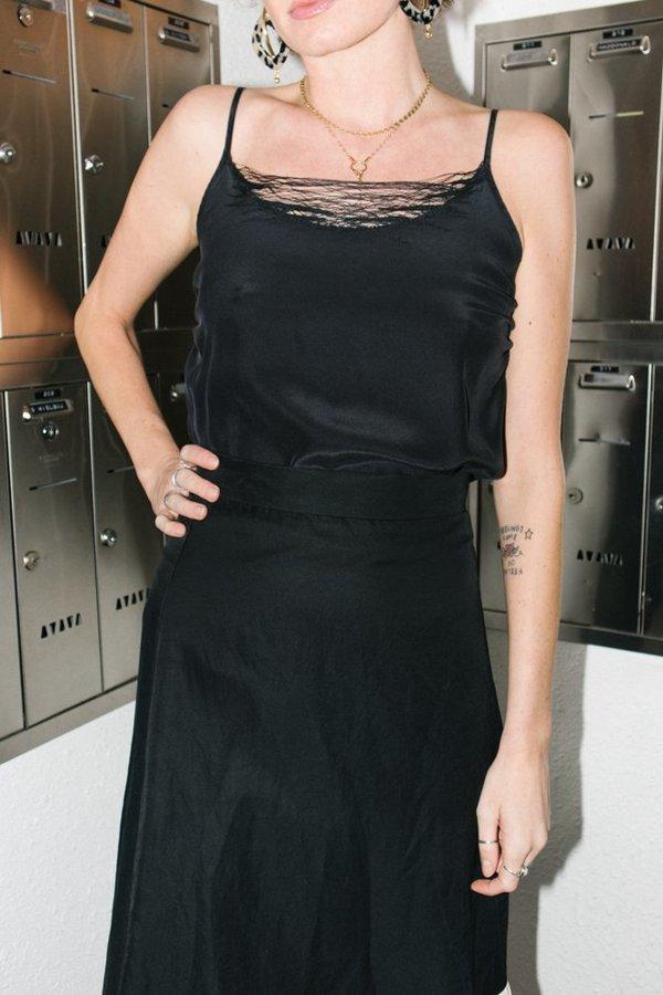 Correll Correll Lace Camisole - Black