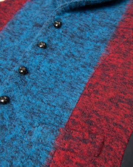 MP Massimo Piombo Blanket Stripe Vest