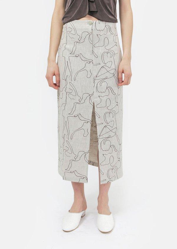 Paloma Wool Nadal Skirt - Grey