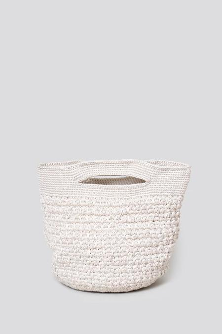 Rachel Comey Cariso Crocheted Clutch - Ivory