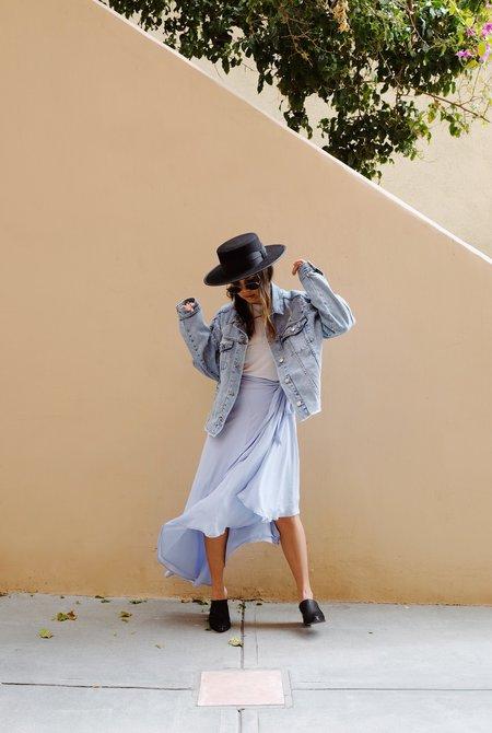 Between Ten Genevieve Skirt - Sky Blue