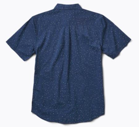 Roark Revival Yellahs Button Up Shirt - Navy