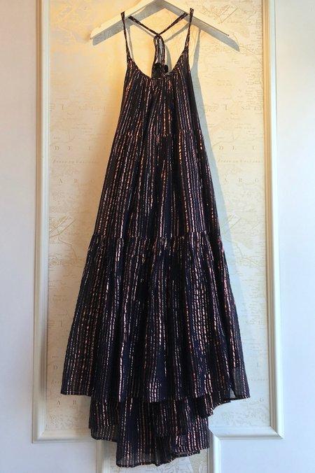 Ulla Johnson Samara Midi Dress - Stripe