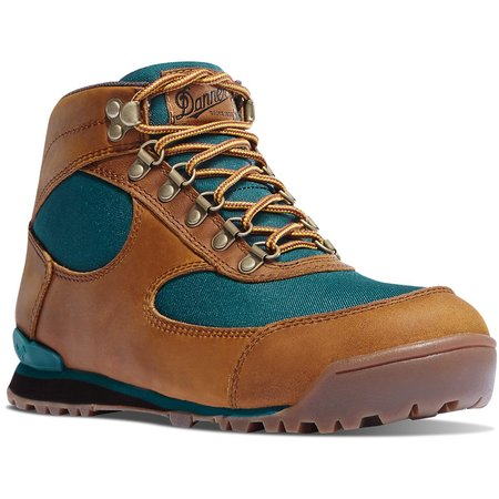 Danner Jag Distressed Hiking Boots - Brown/Deep Teal