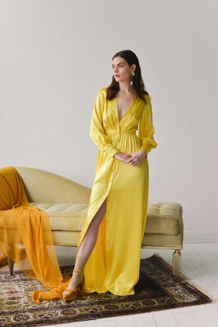 Aurora Vestita Romina Dress - Limone