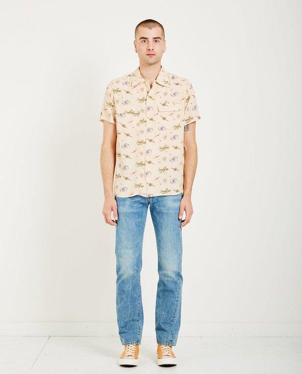 Levi's Vintage Clothing 1940'S UNIVERSE HAWAIIAN SHIRT - BEIGE