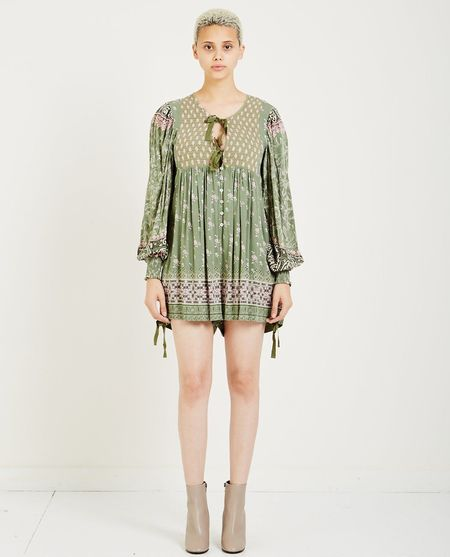 SPELL & THE GYPSY LIONHEART ROMPER - OLIVE GROVE