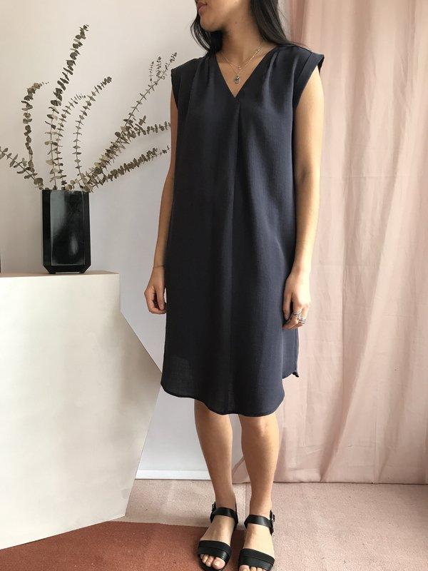 Melissa Nepton Carelle Dress - Marine
