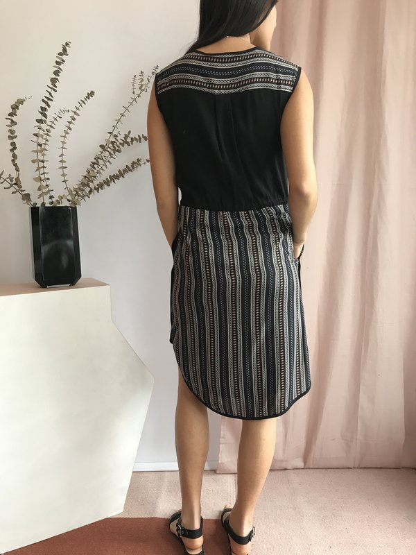 Melissa Nepton Roxy Dress - Boho-Stripe