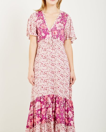 SPELL & THE GYPSY WINONA GOWN - BERRY
