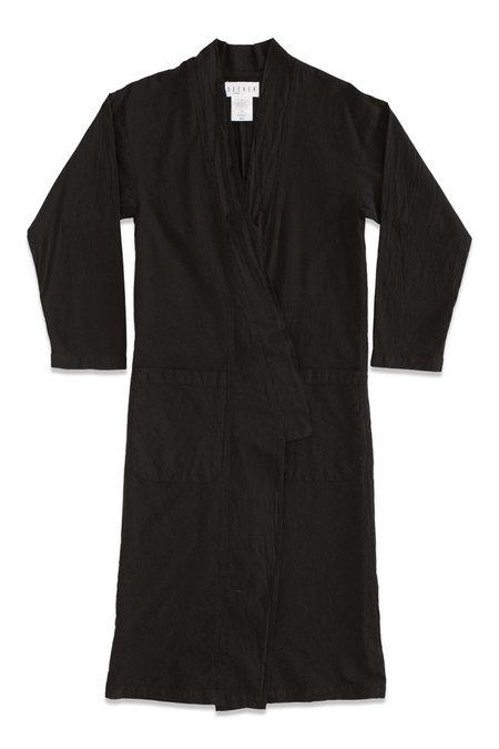 UNISEX Seeker Kimono Coats - Black