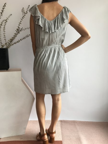 Compania Fantastica Melange Short Sleeve Dress - Raye