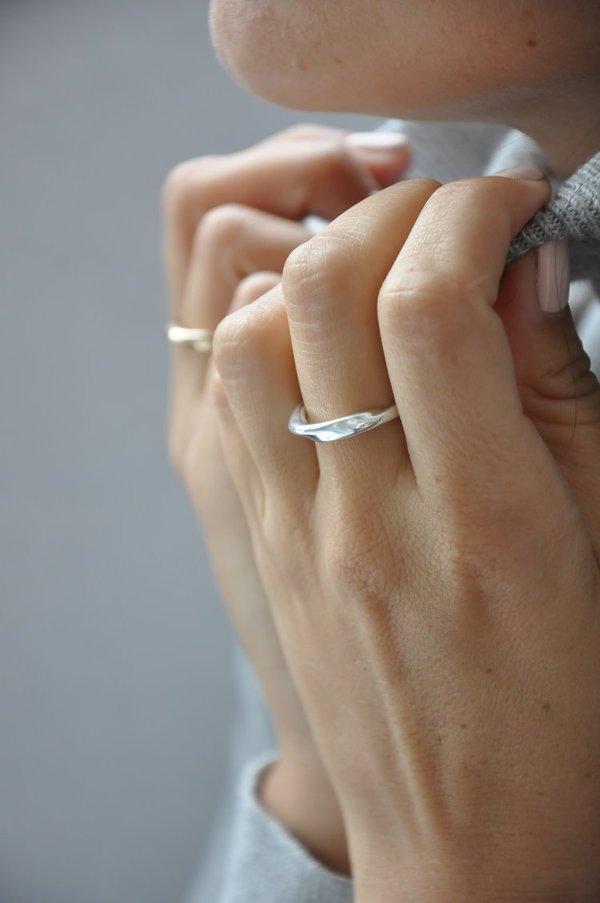 Pilar Agueci Sora Ring - Silver