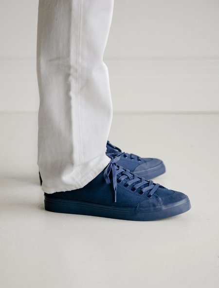 Erik Schedin Deep Blue Canvas Sneaker
