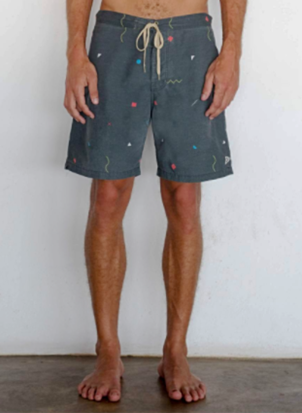 Mollusk Notched Trunks - Blue