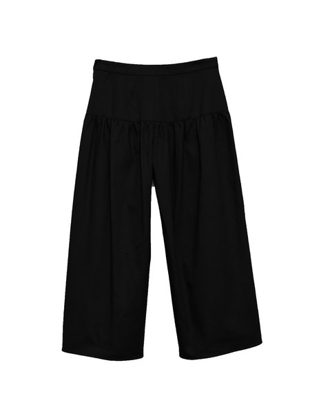 In God We Trust Lisle Pants - Black Twill