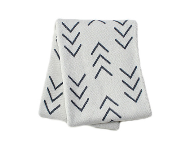 Mood Living Nomad Cotton Knitted Throw