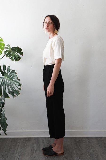 Me & Arrow Wide Pants Cotton - Black