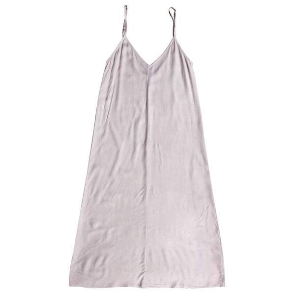 Ali Golden Slip Midi Dress - Lavender