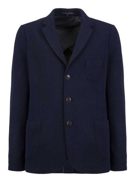 Woolrich Wool/Cotton Blazer in Navy