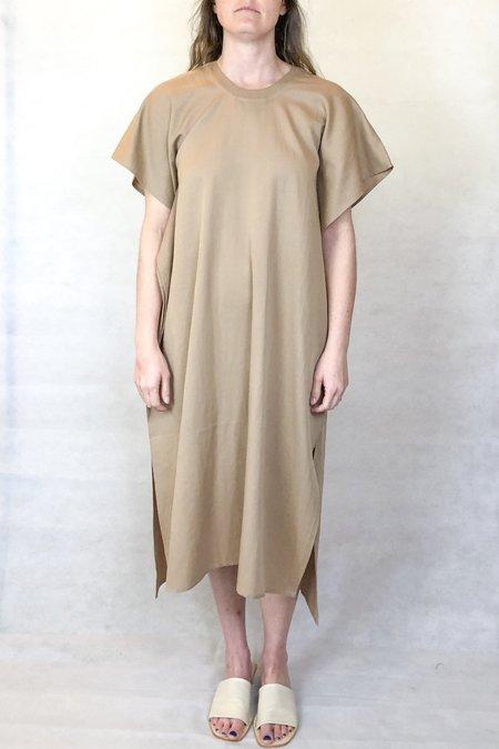 7115 by Szeki swing midi dress - clay