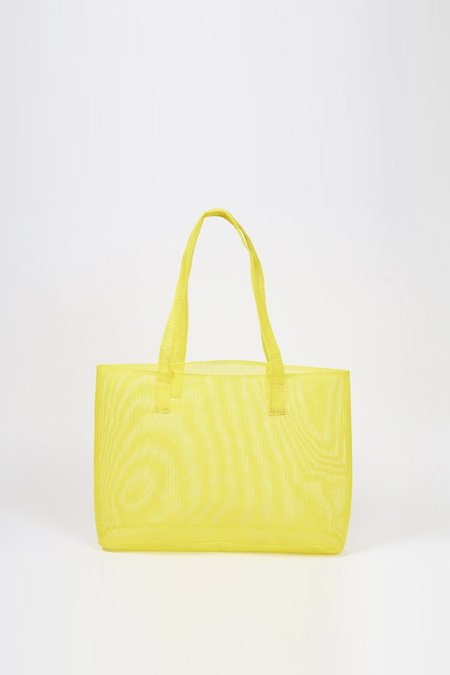 Clyde Mesh Mirage Tote - yellow