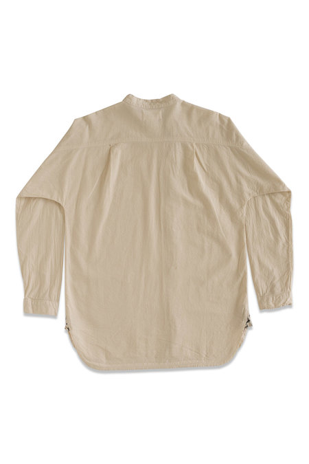 UNISEX Seeker Asymmetrical Button Up - Natural