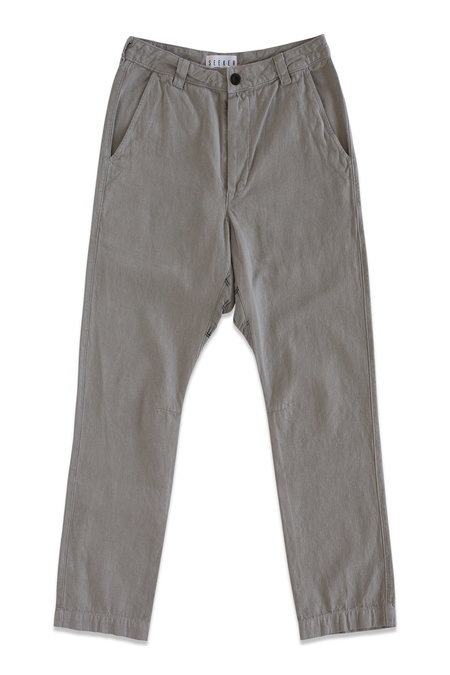 Unisex Seeker Vet Chino Pants - Grey