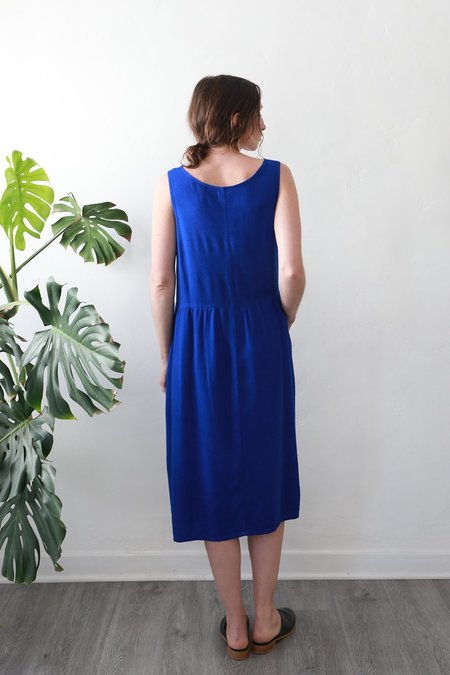 Me & Arrow Tent Dress - Cobalt