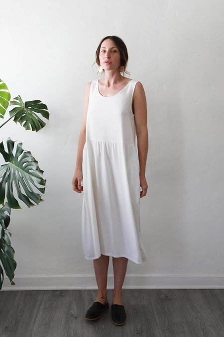 Me & Arrow Tent Dress - White