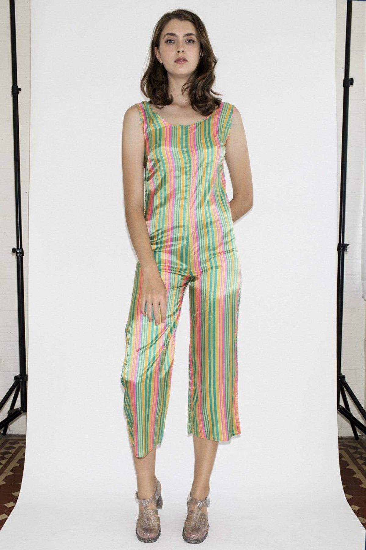b6571653485 Vintage Happy Jumpsuit - Rainbow