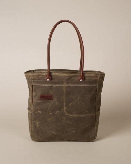 Wood&Faulk Tool Tote Bag - Olympic Moss