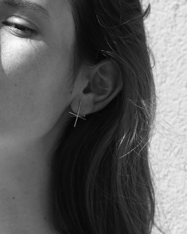 Knobbly Cartesian Earrings