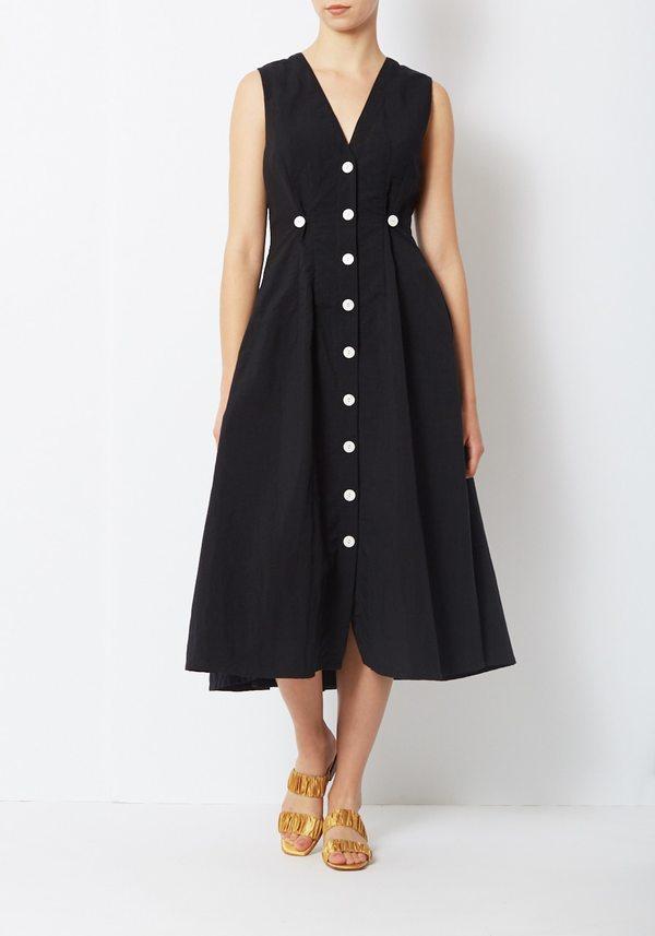 Nikki Chasin Sleeveless Baroness Dress - Black