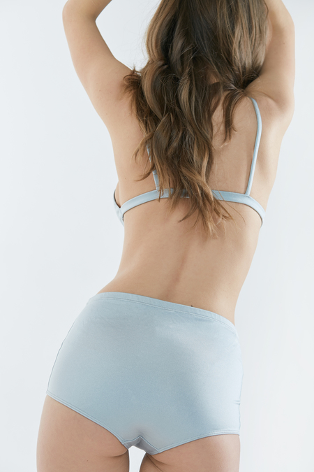 Baserange Kinch Swim Pants in Rio Blue