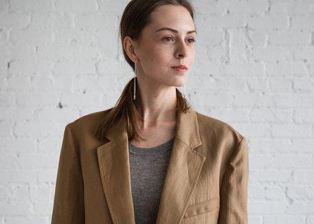 A Détacher Clem Coat - Khaki Twill