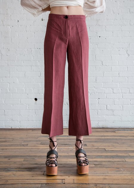 MASSCOB Bonny Pants - Plum