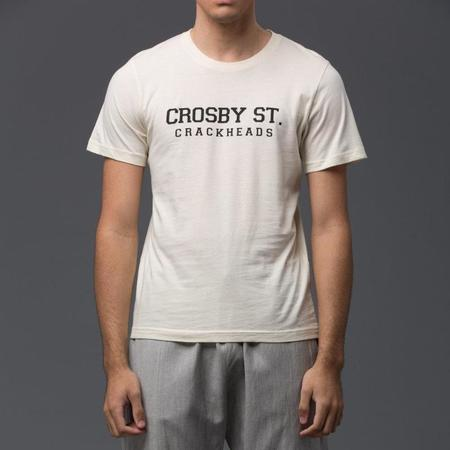 Palmiers Du Mal Crosby Street Crackheads Graphic Tee - Off-White