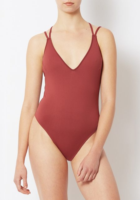 Prism  Garnet Mykonos Swimsuit - Garnet