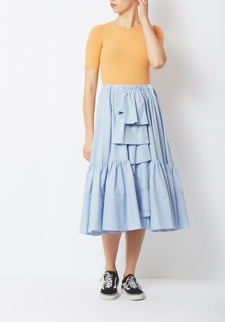Creatures of Comfort Tobias Dress - Blue