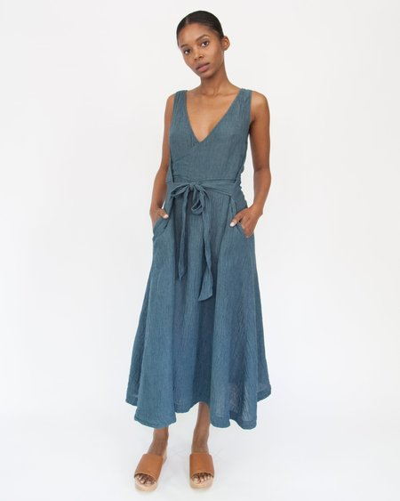 Esby CASEY DRESS - VINTAGE INDIGO