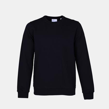 UNISEX Colorful Standard Classic Organic Crew Sweatshirt - Deep Black