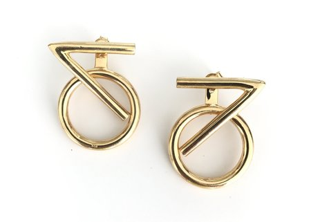 Muskoka Nord Capricorn Earrings - Gold Plated