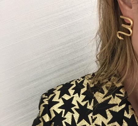 Muskoka Nord Scorpio Earrings - Gold Plated