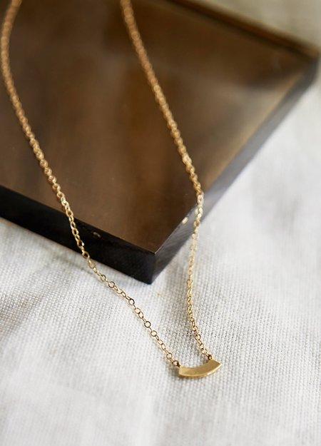 Nikki Montoya Jewelry Arc Necklace -  Gold