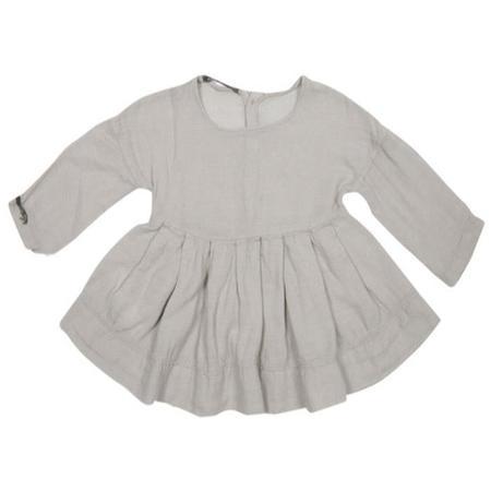 KIDS Album di Famiglia 31059 Tela Dress - Grey