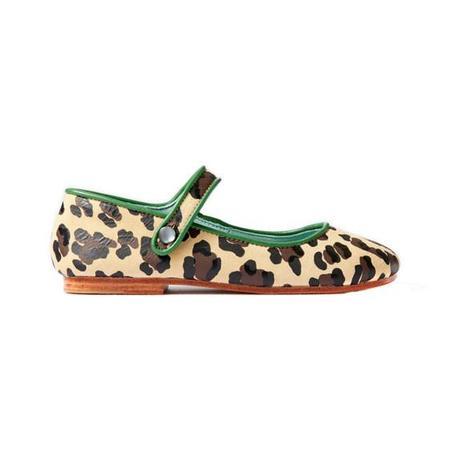 Kids April Showers Shoes - Leopard