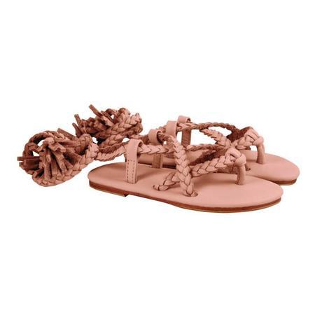 Kids Donsje Jo Braid Sandal - Leather Skin