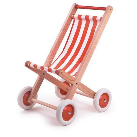 KIDS Egmont Toys Buggy Chair - Red/White Tissue